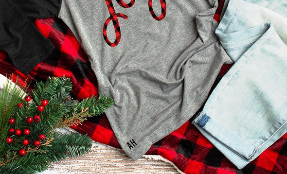 Buffalo Plaid Christmas T-Shirts -  - Qualtry