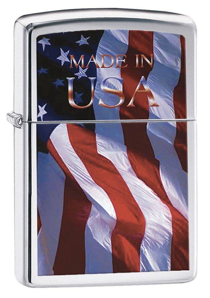 Personalized Made in USA Zippo Lighter