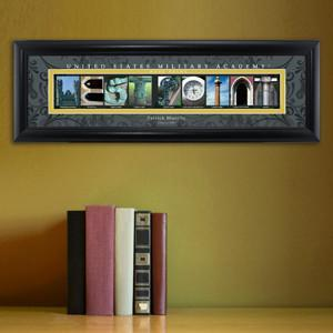 Personalized University Architectural Art - College Art - WestPoint - JDS