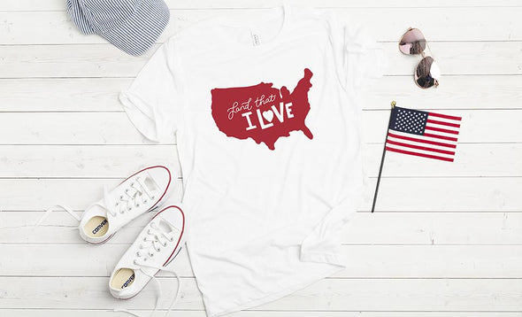Personalized Patriotic T-Shirts -  - Qualtry