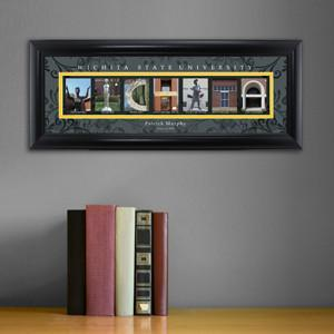 Personalized University Architectural Art - College Art - Witchita - JDS