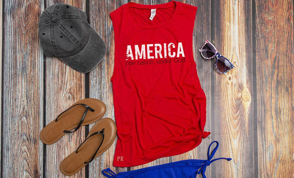 Personalized Patriotic Tank Collection -  - Qualtry