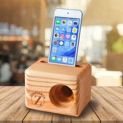 Personalized Wooden Speaker - Cell Phone Speaker -  - JDS