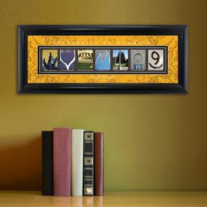 Personalized University Architectural Art - College Art - Wyoming - JDS