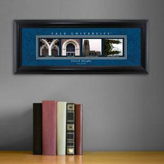 Personalized University Architectural Art - College Art - Yale