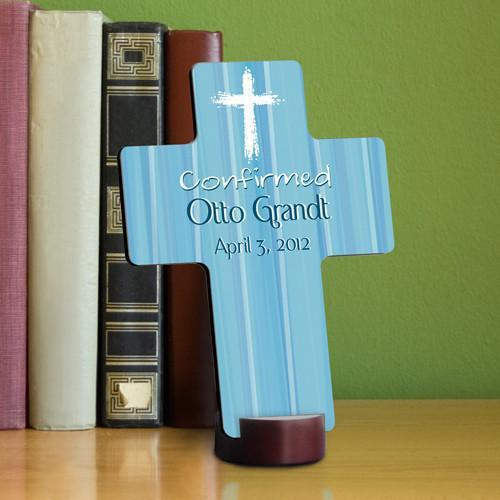 Personalized Confirmation Cross -  - JDS