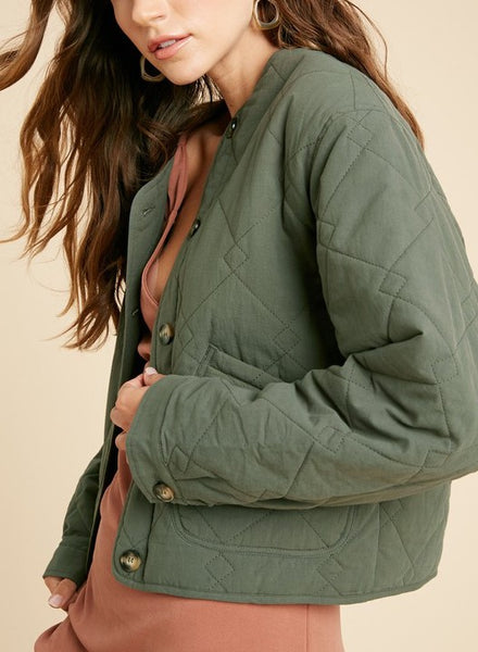 Haley Quilted Jacket
