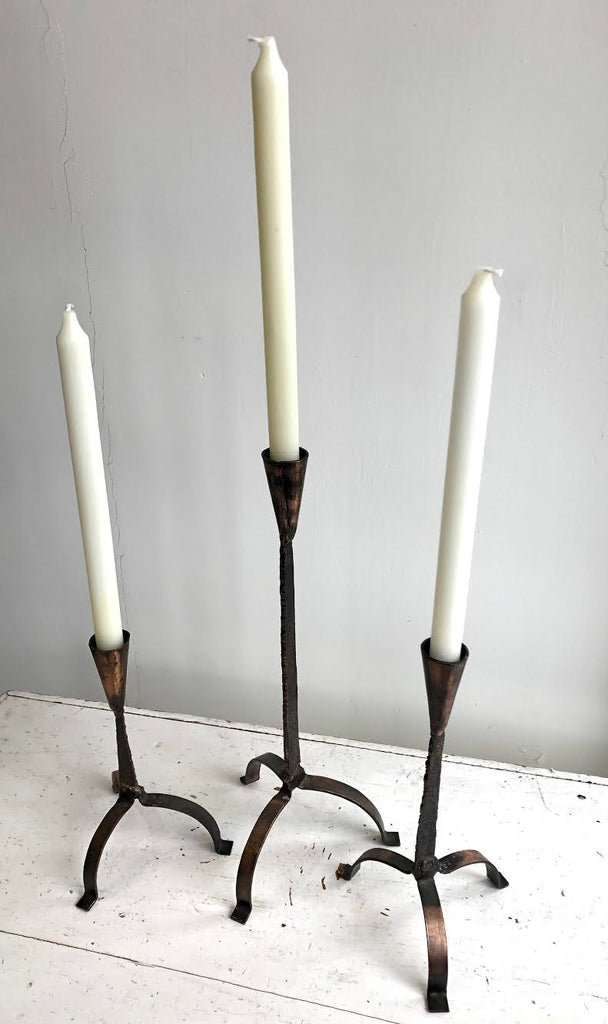 Set 3 Vintage Candlestick Holders
