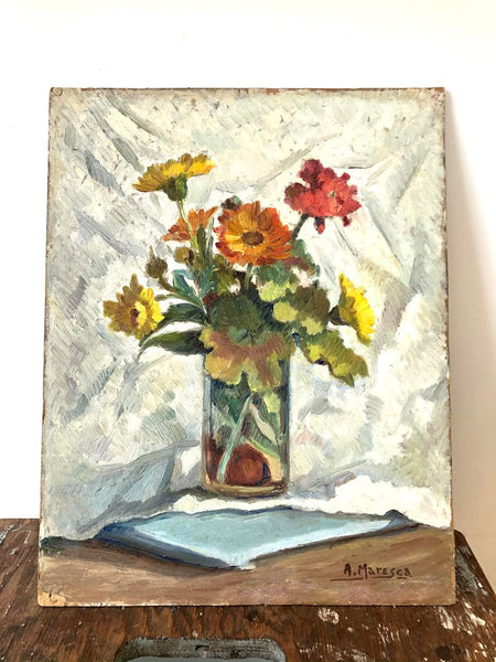 Vintage Floral Painting No. 5