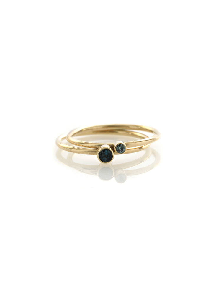 2mm Stackable Round Band Ring