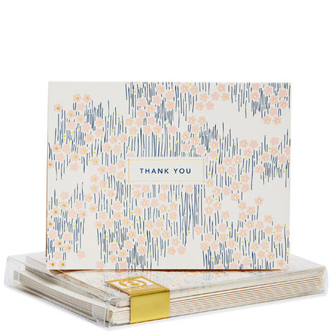 Snow & Graham Bitsy Gold Foil Noteset