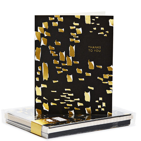 Snow & Graham Wild Gold Foil Noteset