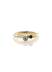 4mm Stackable Round Band Ring