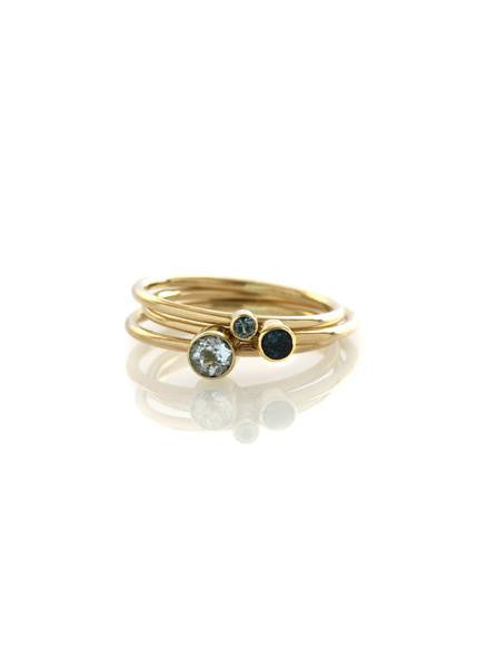 3mm Stackable Round Band Ring