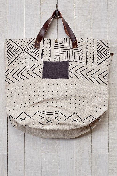 Tribal Canvas Bag