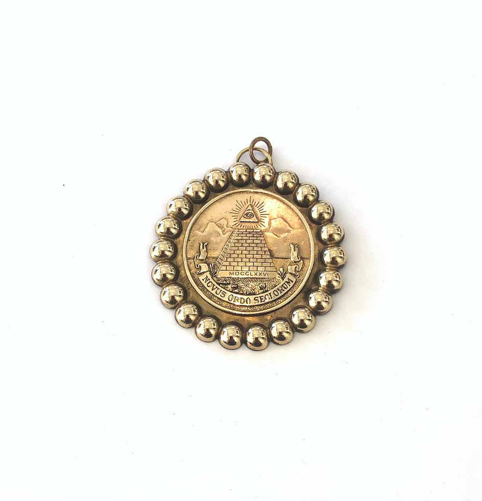 Vintage Eye of Providence Pendant
