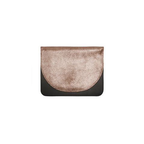 Lunette Small Half Moon Suede Wallet