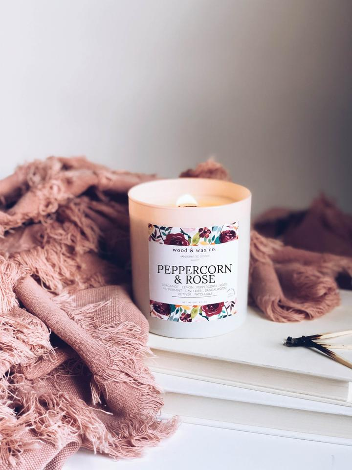 Peppercorn & Rose Candle