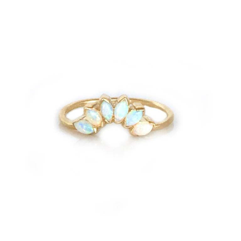 14k Caribbean Sunrise Ring • Opal