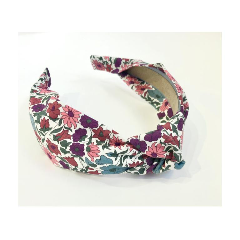 Handmade Hot Pink Wildflower Headband