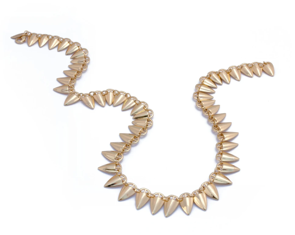Grain Link Necklace