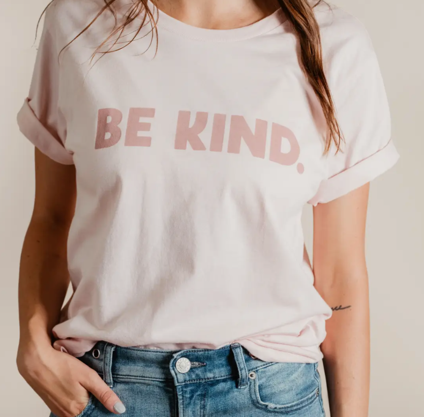 SUNNY • Unisex BE KIND T-shirt • Pink