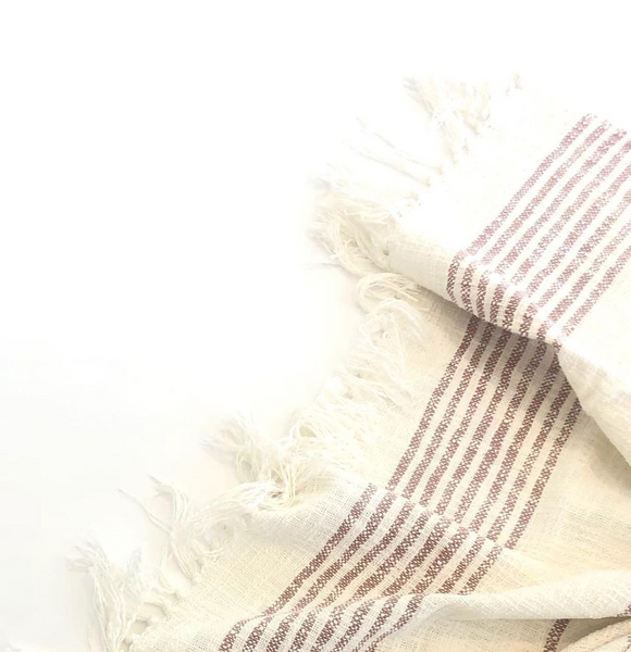 Fringe Cotton Throw