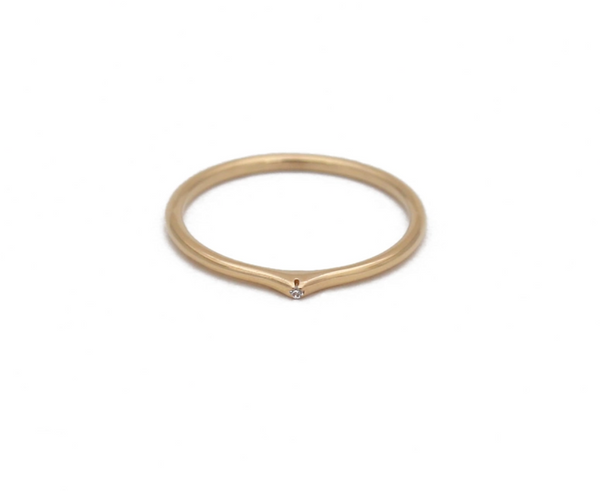 Ace Stacking Ring • Gold