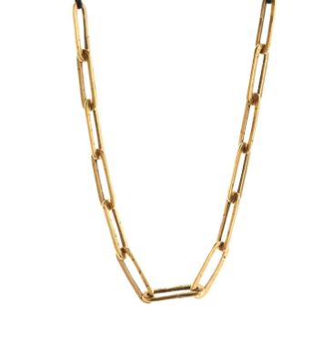 Hammered Links Necklace