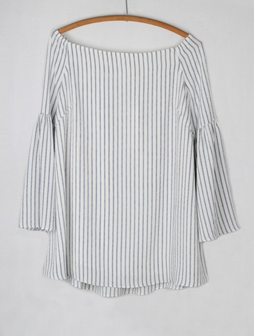 Wide Boatneck Tunic