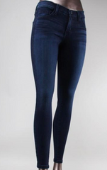 Skinny Dark Wash Denim