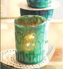 Azzurro Mercury Tealight Holder