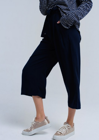 Pleated Ribbon Pant