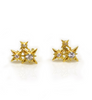 Starry Night Cluster Studs • White Sapphire
