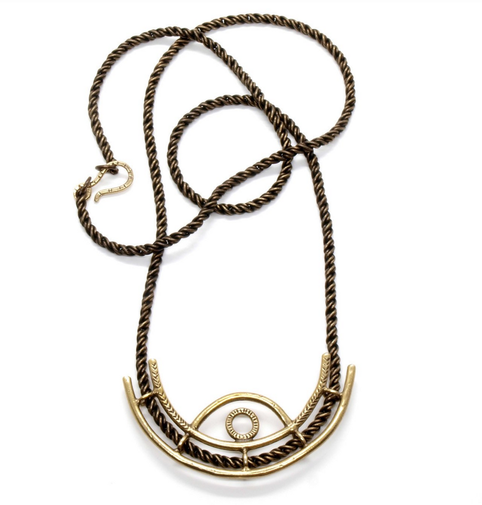 Horizon Eye Necklace