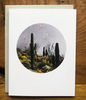 Watercolor Card • Saguaro Cacti
