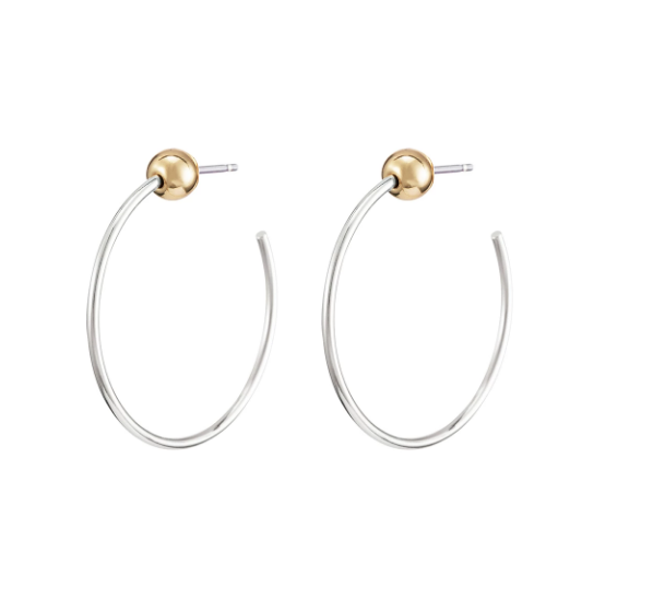 Two-Tone Icon Hoops • Extra Small
