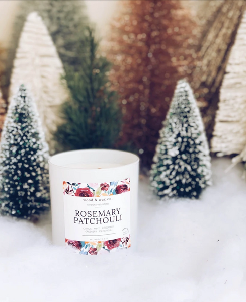 Rosemary + Patchouli Candle
