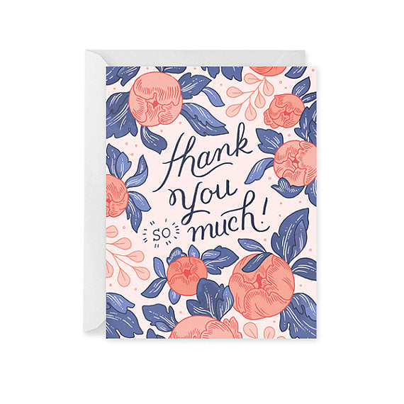 Thank You Card • Floral Bouquet