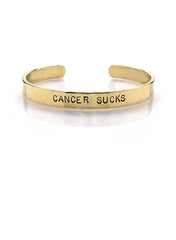 CANCER SUCKS Cuff