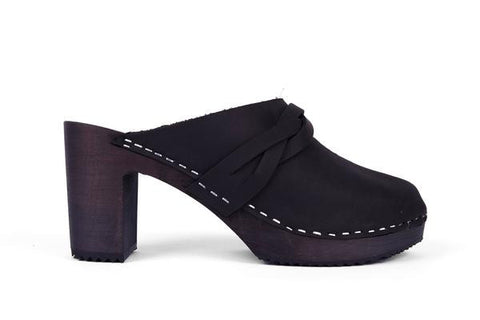 Ida Clog Full Black