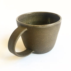 Brown Stoneware Mugs