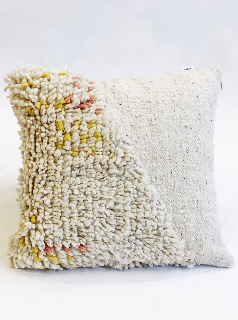 Split Shag Pillow