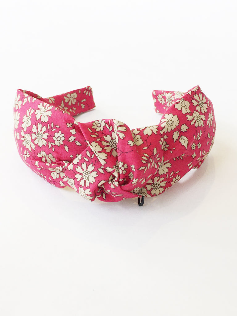 Handmade Blooming Ruby Headband