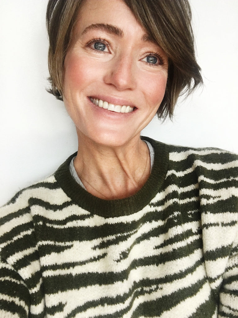 Zebra Sweater