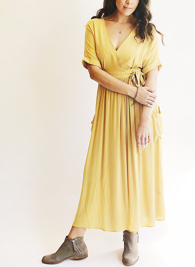 The Sunshine Wrap Dress
