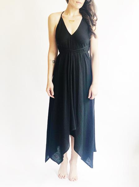 Halter Wrap Dress