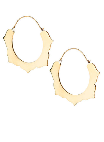 27mm Arabesque Hoops
