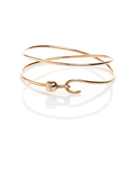 Infinity Cuff with Ball Clasp
