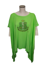 AKA Bling Tunic With Crest - Green